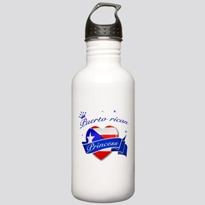 Puertorican Princess Stainless Water Bottle 1.0L