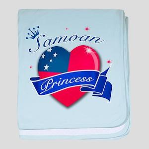 Samoan Princess baby blanket