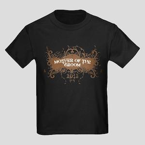 2013 Grunge Groom Mother Kids Dark T-Shirt