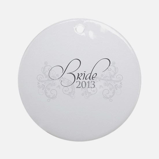 Fleur Amour 2013 Bride Ornament (Round)