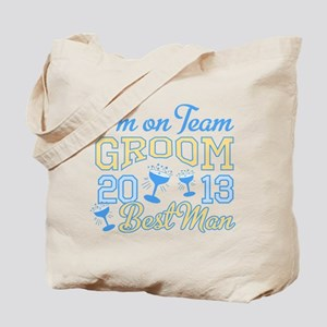 Best Man Champagne 2013 Tote Bag