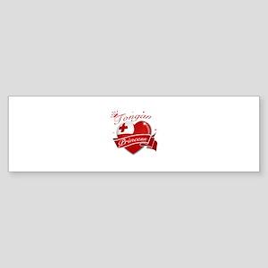 Tongan Princess Sticker (Bumper)