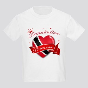 Trinidadian Princess Kids Light T-Shirt