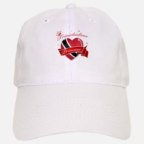 Trinidadian Princess Baseball Baseball Cap
