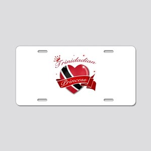 Trinidadian Princess Aluminum License Plate