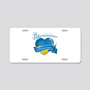 Ukrainian Princess Aluminum License Plate