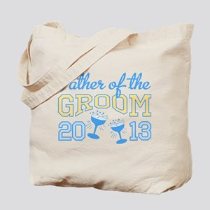 Father Groom Champagne 2013 Tote Bag