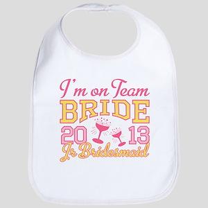 Jr Bridesmaid Champagne 2013 Bib