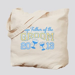 Step-Father Groom Champagne 2 Tote Bag