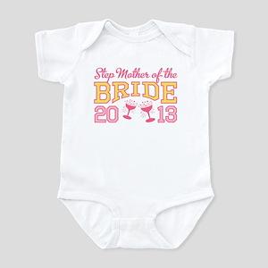 Step-mother Bride Champage 20 Infant Bodysuit