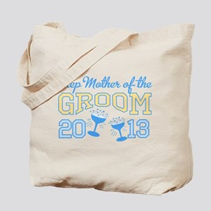 Step-mother Groom Champagne 2 Tote Bag