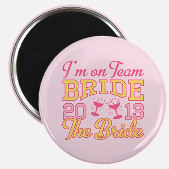 The Bride Champagne 2013 Magnet