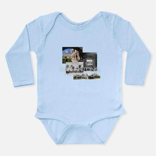 ABH San Antonio Missio Long Sleeve Infant Bodysuit