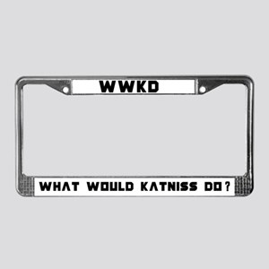 WWKD License Plate Frame
