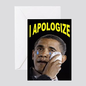 HE'LL BE SORRY! Greeting Card