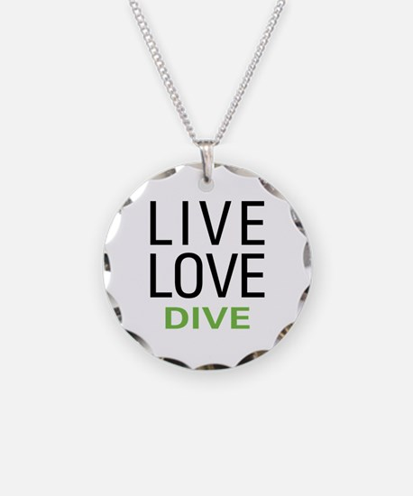 Live Love Dive Necklace