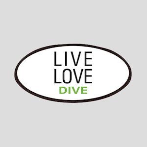 Live Love Dive Patches
