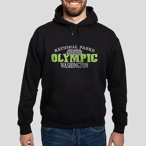 Olympic National Park WA Hoodie (dark)