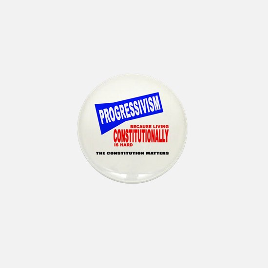 Unique Progressivism Mini Button