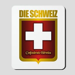 """Swiss Gold"" Mousepad"