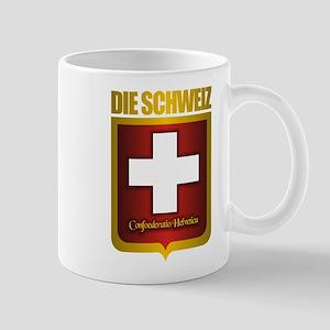 """Swiss Gold"" Mug"