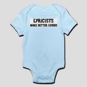 Lyricists: Better Lovers Infant Creeper