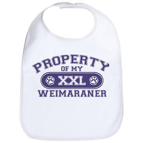 Weimaraner PROPERTY Bib