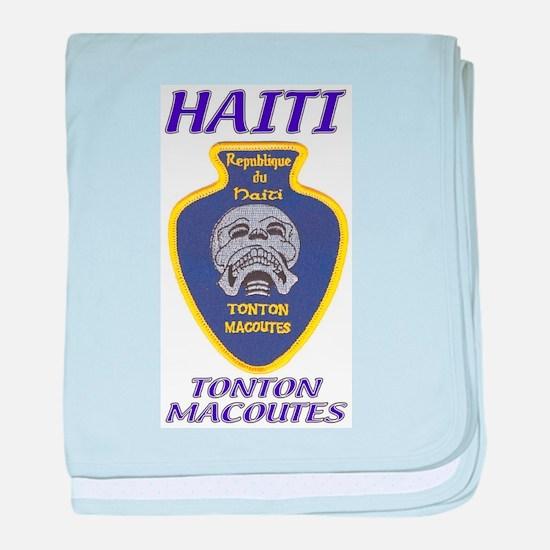 Haiti Tonton Macoutes baby blanket