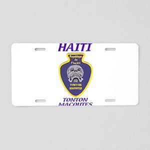 Haiti Tonton Macoutes Aluminum License Plate
