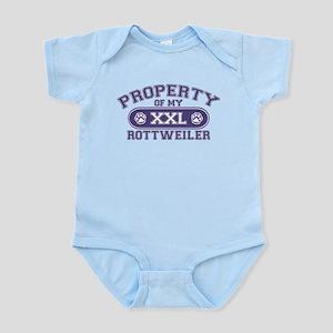Rottweiler PROPERTY Infant Bodysuit