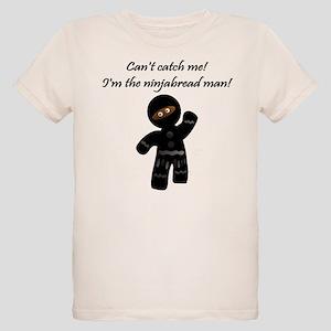 Ninjabread Man Organic Kids T-Shirt