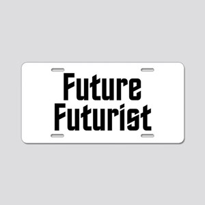 Future Futurist Aluminum License Plate