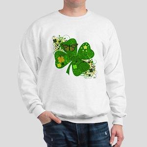 Fancy Irish 4 leaf Clover Sweatshirt