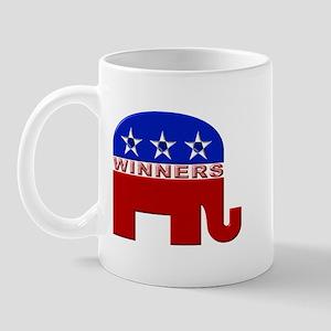 Republican Elephant Logo -  Mug