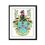 Coat of Arms Framed Panel Print