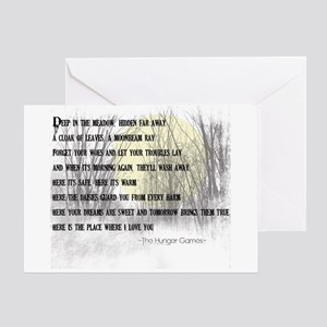 Song For Rue Greeting Card