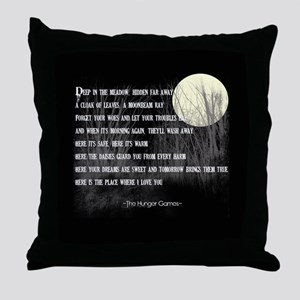 Song For Rue Throw Pillow