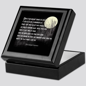 Song For Rue Keepsake Box