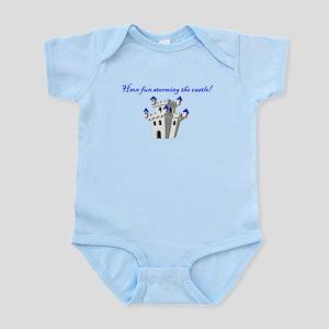 Have Fun Storming the Castle! Infant Bodysuit