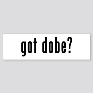 GOT DOBE Sticker (Bumper)