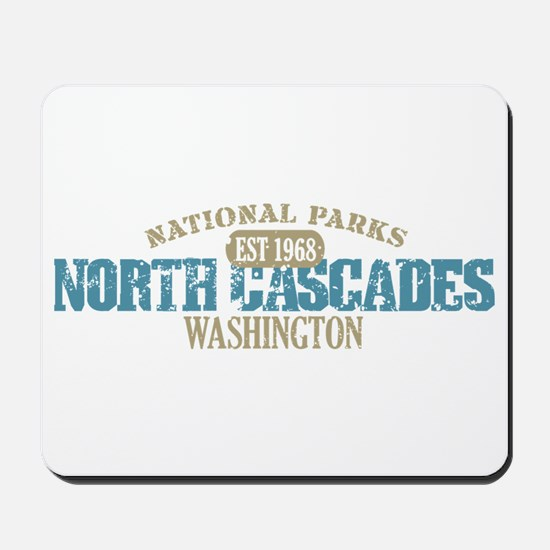 North Cascades National Park Mousepad