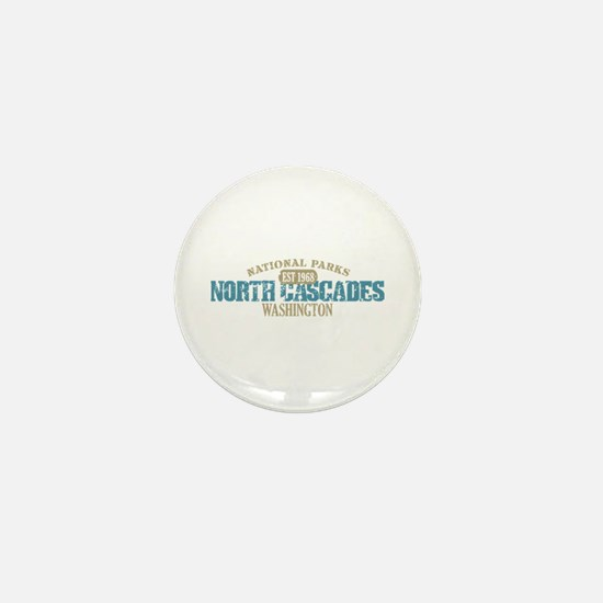 North Cascades National Park Mini Button