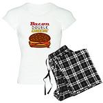 BaconDoubleCHEESE! Women's Light Pajamas