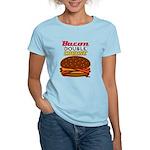 BaconDoubleCHEESE! Women's Light T-Shirt