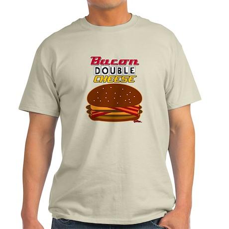 BaconDoubleCHEESE! Light T-Shirt