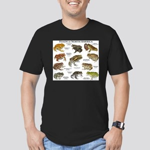 Toads of North America Men's Fitted T-Shirt (dark)