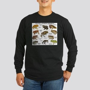 Toads of North America Long Sleeve Dark T-Shirt
