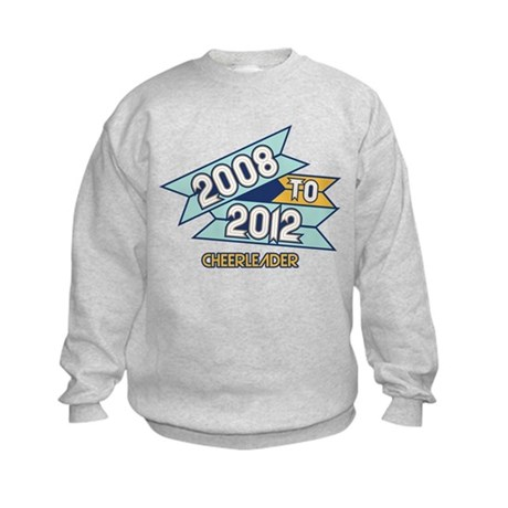 08 to 12 Cheerleader Kids Sweatshirt