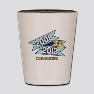 08 to 12 Cheerleading Shot Glass
