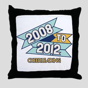 08 to 12 Cheerleading Throw Pillow